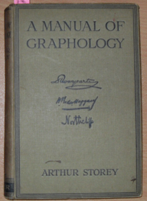 Image for Manual of Graphology, A