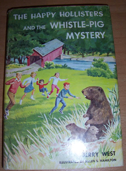 Happy Hollisters and the Whistle-Pig Mystery, The