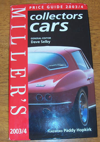 Image for Millers Price Guide 2003/4: Collectors Cars