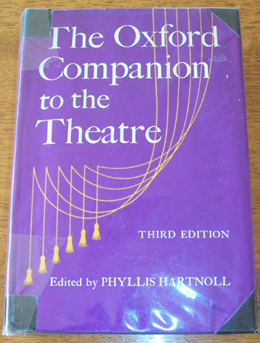 Image for Oxford Companion to the Theatre, The