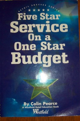 Image for Five Star Service On a One Star Budget: Retail Success Series