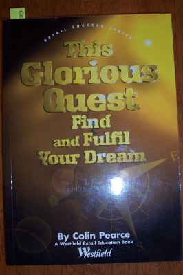 Image for This Glorious Quest: Find and Fulfil Your Dream