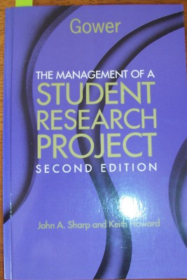 Image for Management of a Student Research Project, The