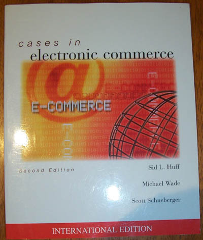 Image for Cases in Electronic Commerce