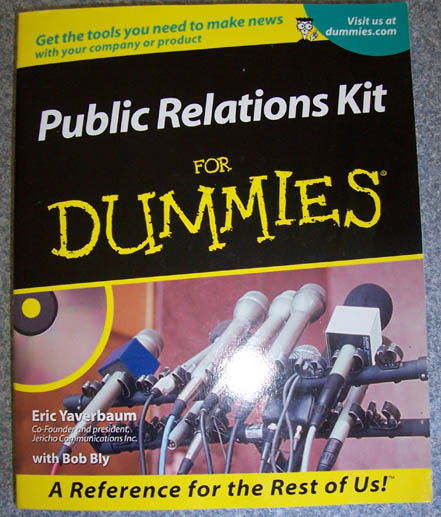 Image for Public Relations Kit for Dummies