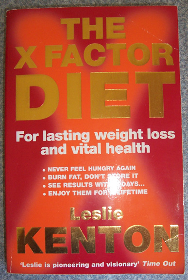 Image for X Factor Diet, The: For Lasting Weight Loss and Vital Health