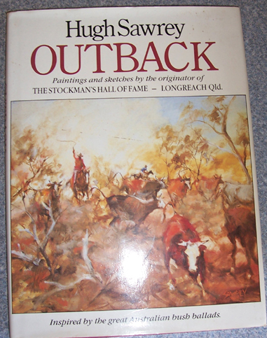 Image for Outback: Paintings and Sketches By the Originator of The Stockman's Hall of Fame