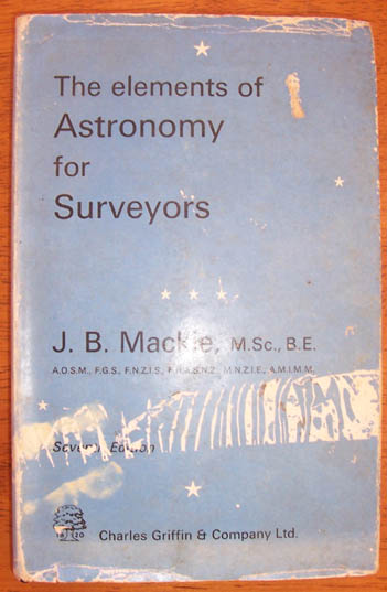 Image for Elements of Astronomy for Surveyors, The