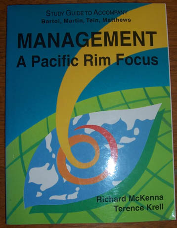 Image for Study Guide to Accompany 'Management: A Pacific Rim Focus'