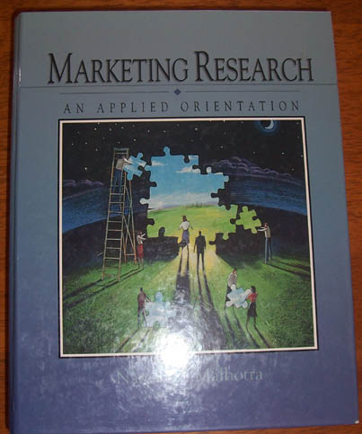 Image for Marketing Research: An Applied Orientation