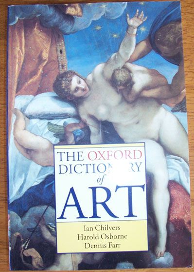 Image for Oxford Dictionary of Art, The
