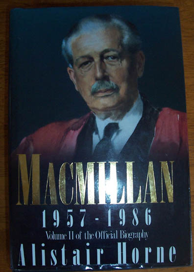 Image for Macmillan (1957 - 1986): Volume II of the Official Biography