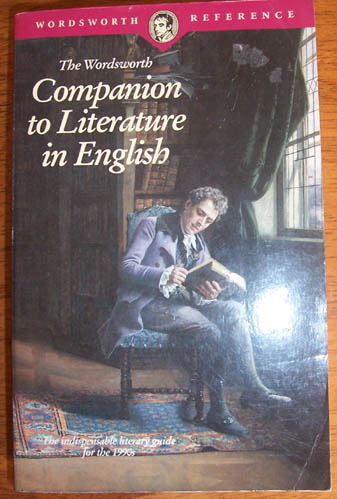 Image for Wordsworth Companion to Literature in English, The