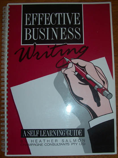 Image for Effective Business Writing: A Self Learning Guide
