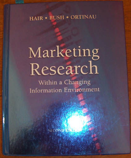 Image for Marketing Research Within a Changing Information Environment