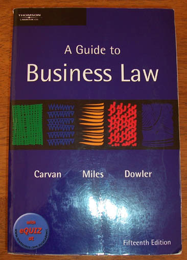 Image for Guide to Business Law, A