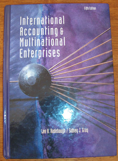 Image for International Accounting & Multinational Enterprises