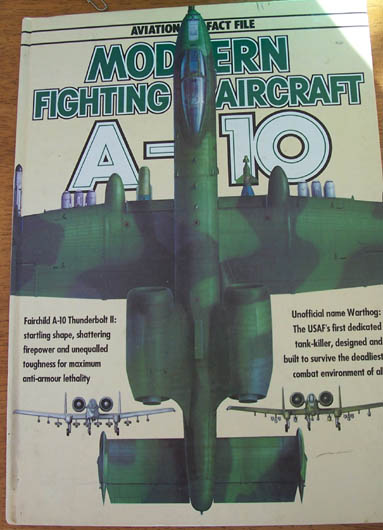 Image for Aviation Fact File: Modern Fighting Aircraft A-10