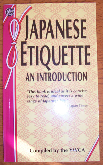 Image for Japanese Etiquette: An Introduction