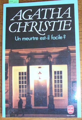 Image for Un Meurte Est-il Facile? (Murder is Easy) - French Language