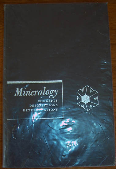 Image for Mineralogy: Concepts, Descriptions, Determinations