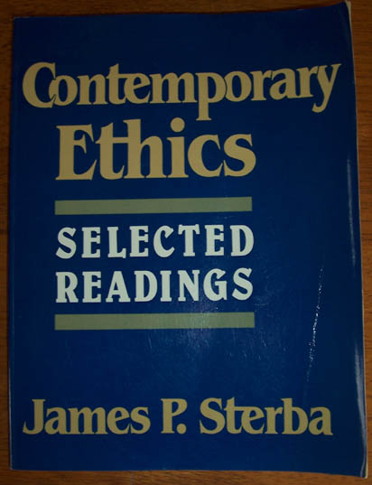 Image for Contemporary Ethics: Selected Readings