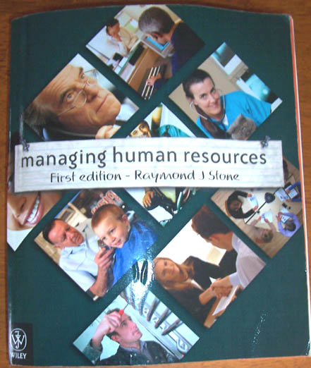 Image for Managing Human Resources
