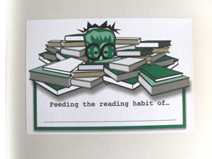 Image for Reading Habit Bookplates (Pk of 10) - FREE SHIPPING WITHIN AUSTRALIA