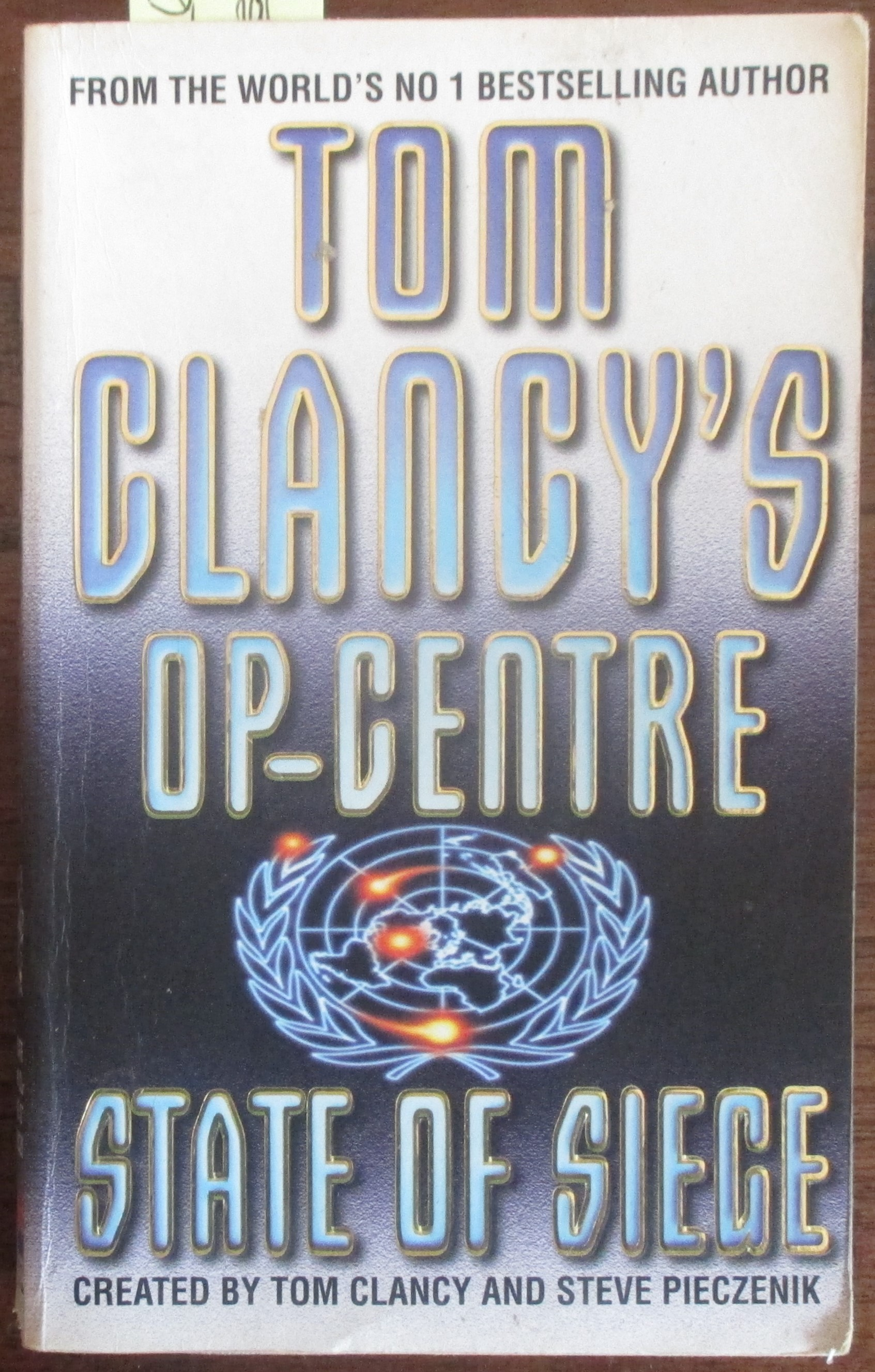 Image for State of Siege: Tom Clancy's Op-Centre (#6)