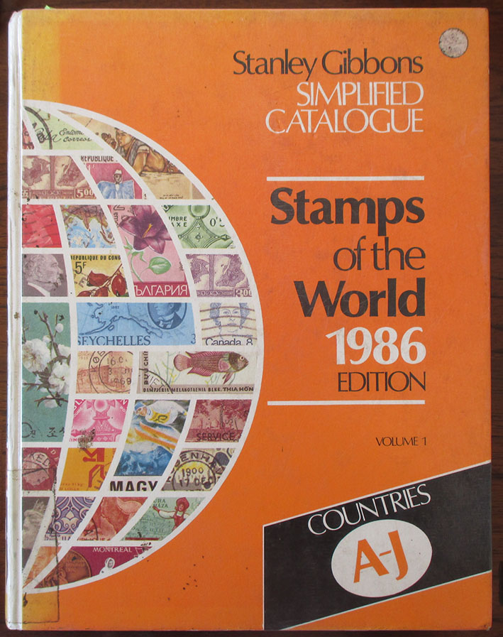 Image for Stanley Gibbons Simplified Catalogue: Stamps of the World 1986 Edition - Volume 1 - Countries A-J