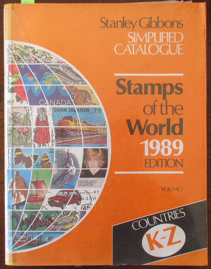 Image for Stanley Gibbons Simplified Catalogue: Stamps of the World 1989 Edition - Volume 2 - Countries K-Z
