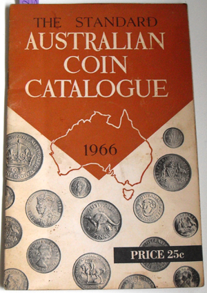 Image for Standard Australian Coin Catalogue, The (1966 Decimal Currency Edition)