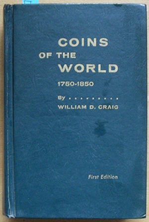 Image for Coins of the World 1750-1850