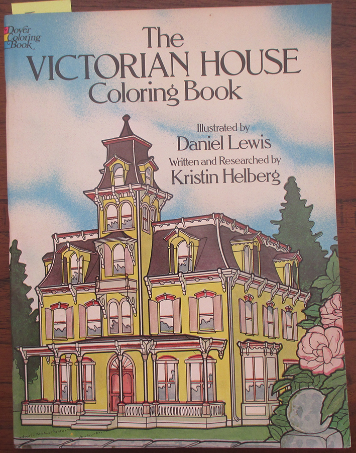 Image for Victorian House Coloring Book, The