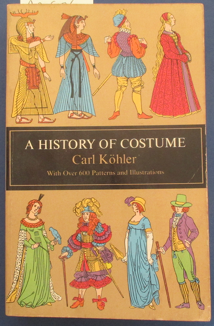 Image for History of Costume, A