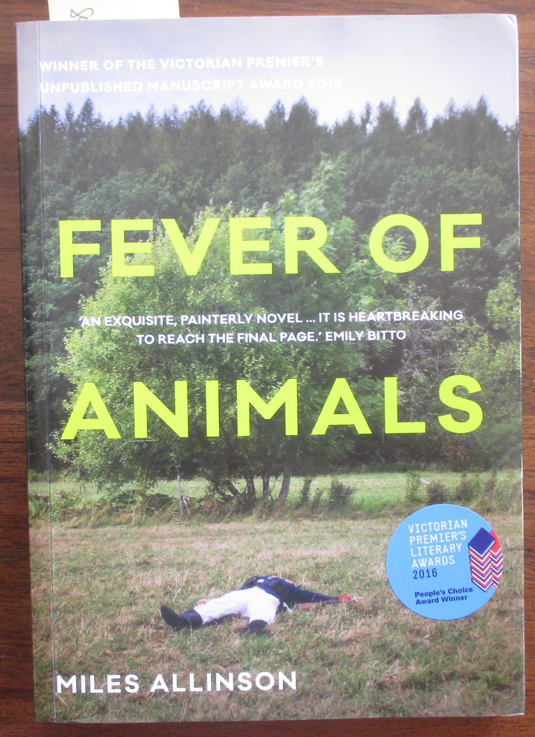 Image for Fever of Animals