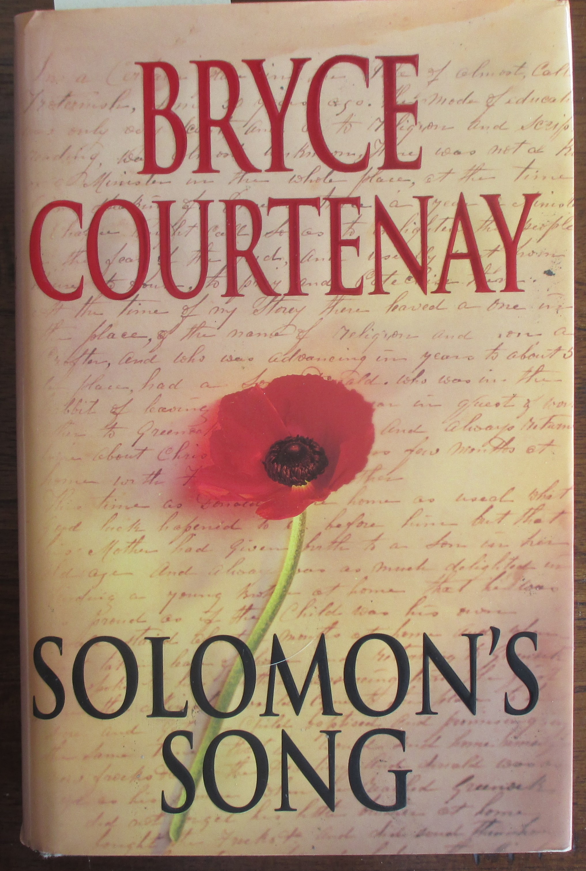 Image for Solomon's Song: The Australian Trilogy (Book #3)