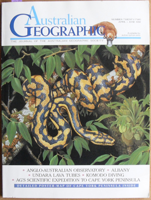 Image for Journal of the Australian Geographic Society, The (No. 22)
