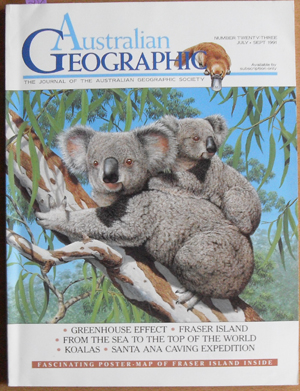 Image for Journal of the Australian Geographic Society, The (No. 23)