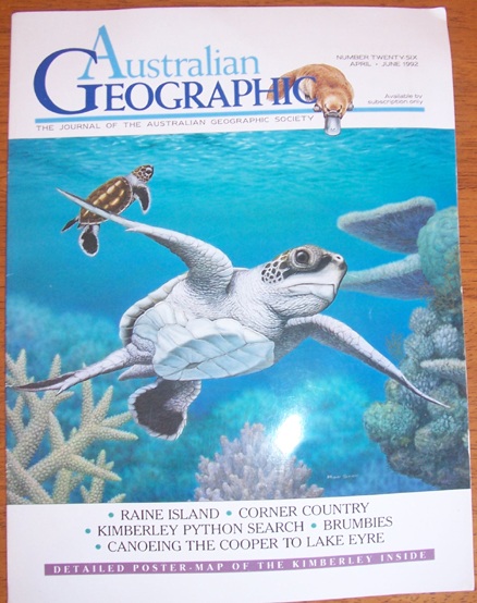Image for Journal of the Australian Geographic Society, The (No. 26, April, June 92)