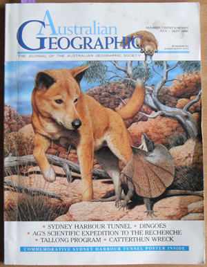 Image for Journal of the Australian Geographic Society, The (No. 27)