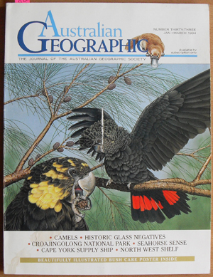 Image for Journal of the Australian Geographic Society, The (No. 33)