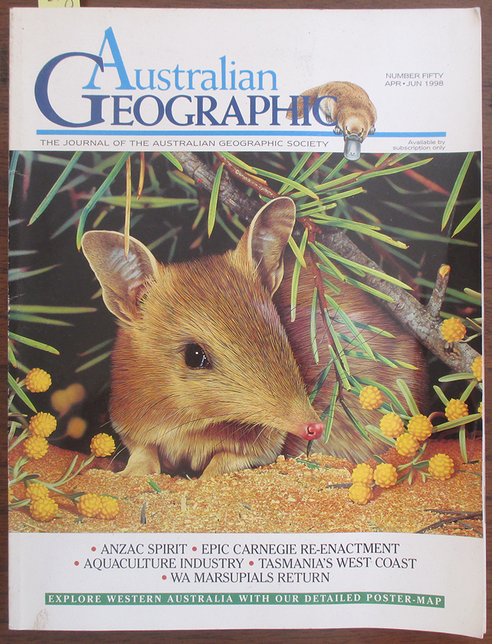 Image for Journal of the Australian Geographic Society, The (No. 50)