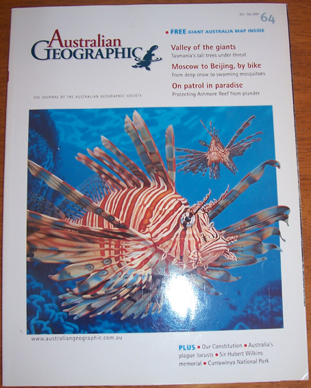 Image for Journal of the Australian Geographic Society, The (No. 64)