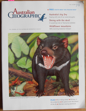 Image for Journal of the Australian Geographic Society, The (No. 70)