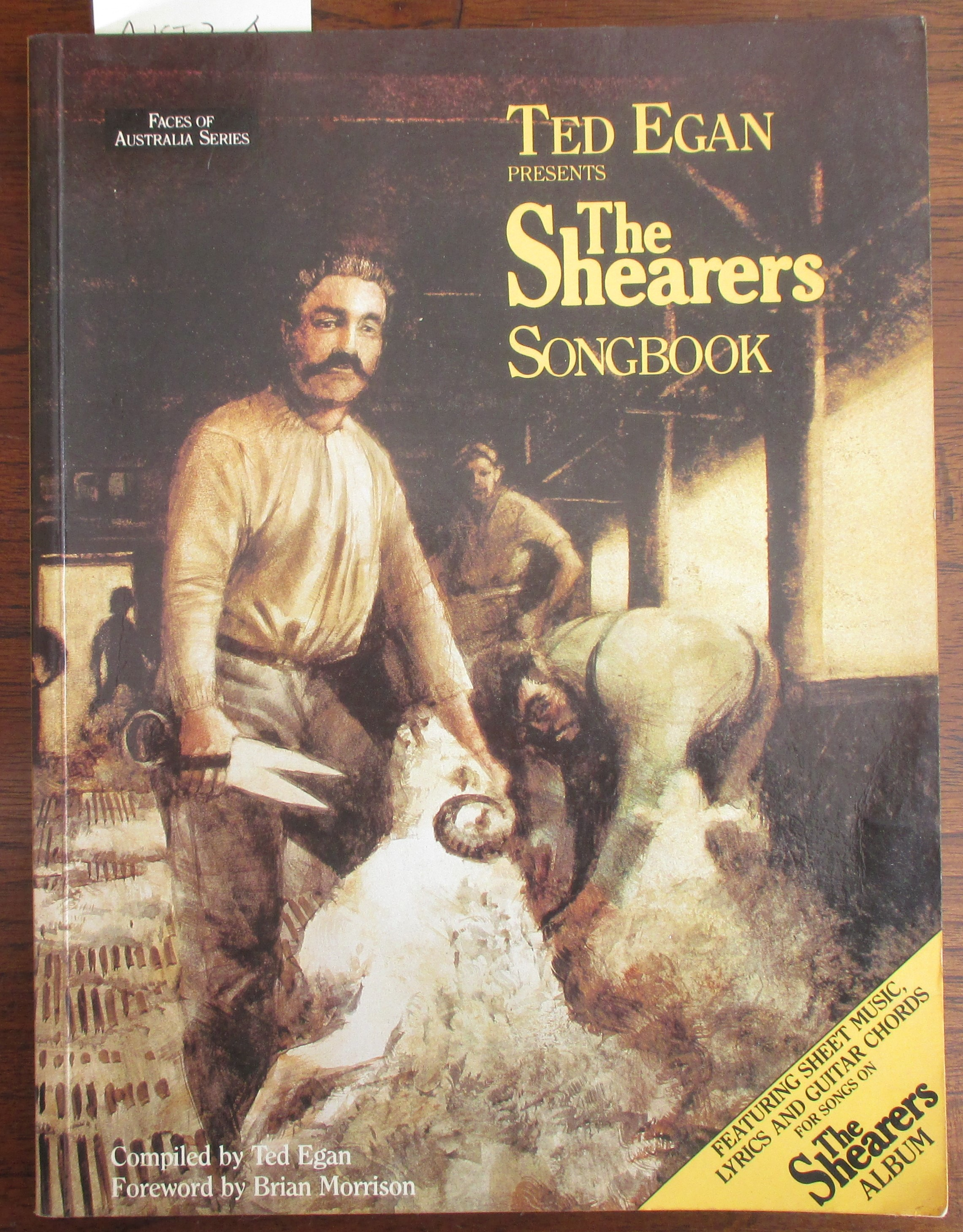 Image for Shearers Songbook, The: Faces of Australia Series