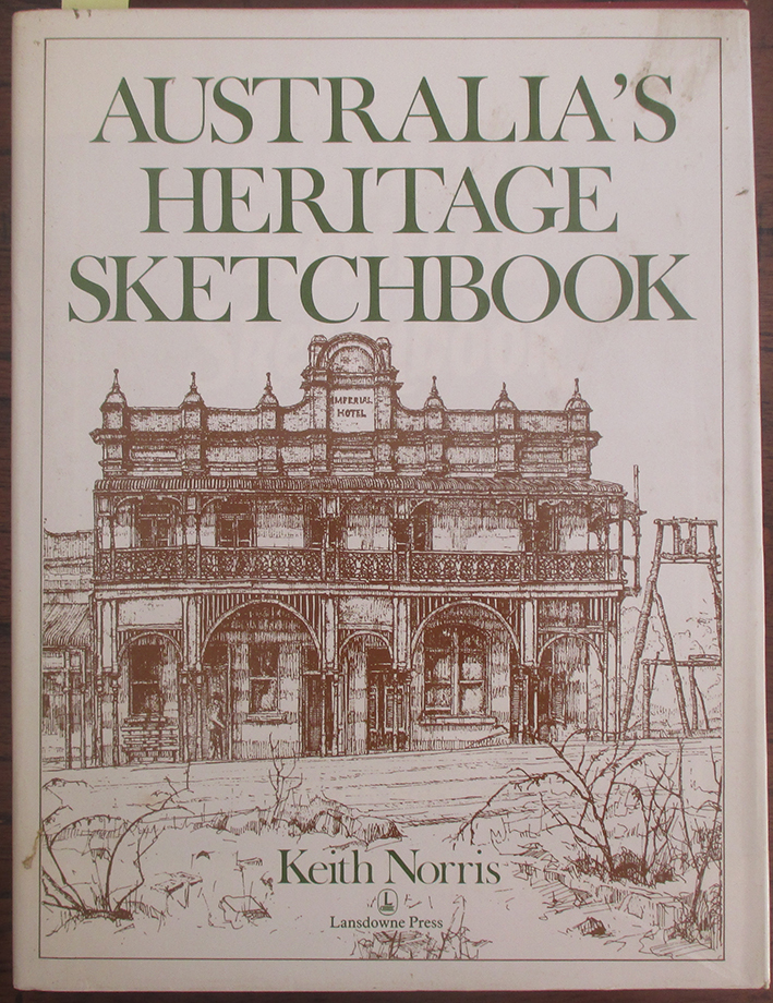 Image for Australia's Heritage Sketchbook