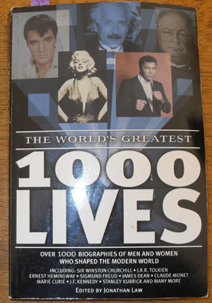 Image for World's Greatest 1000 Lives, The