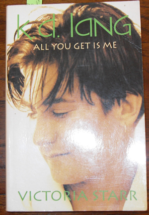 Image for K.D. Lang: All You Get is Me