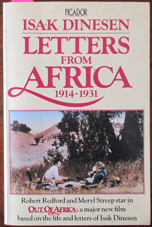 Image for Letters From Africa 1914-1931